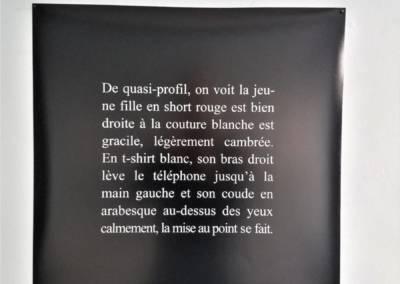 Fontières/Borders, Jérôme Game, Exposition 'Prétexte #2', Friche la Belle de Mai – actOral, Marseille, 2015 II