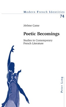 Poetic Becomings. Studies in contemporary French literature